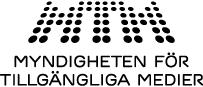 Myndigheten för tillgängliga mediers logotyp, tillbaka till startsidan.