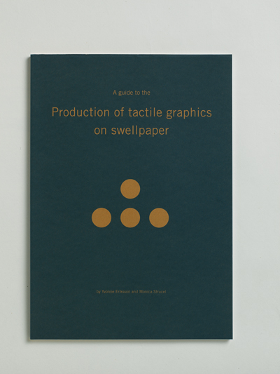 Bild på skriften A guide to the production of tactile graphics on swellpaper
