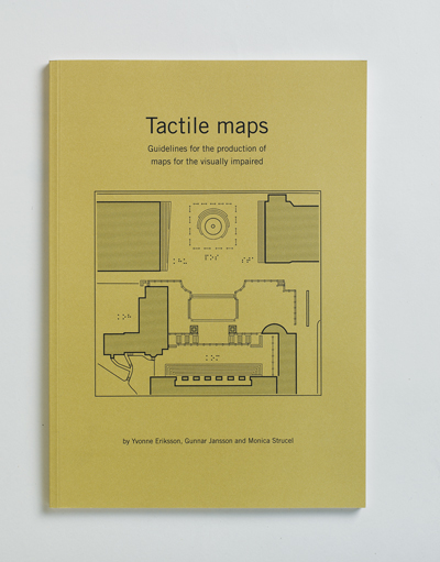 Bild på skriften Tactile maps: Guidelines for the production of maps for the visually impaired (2003)